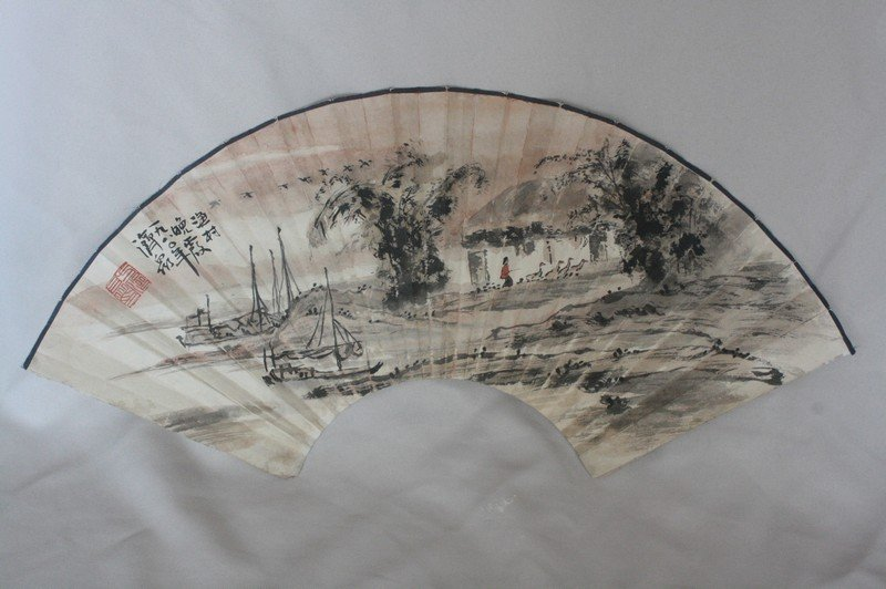 1004: Chinese Fan Painting