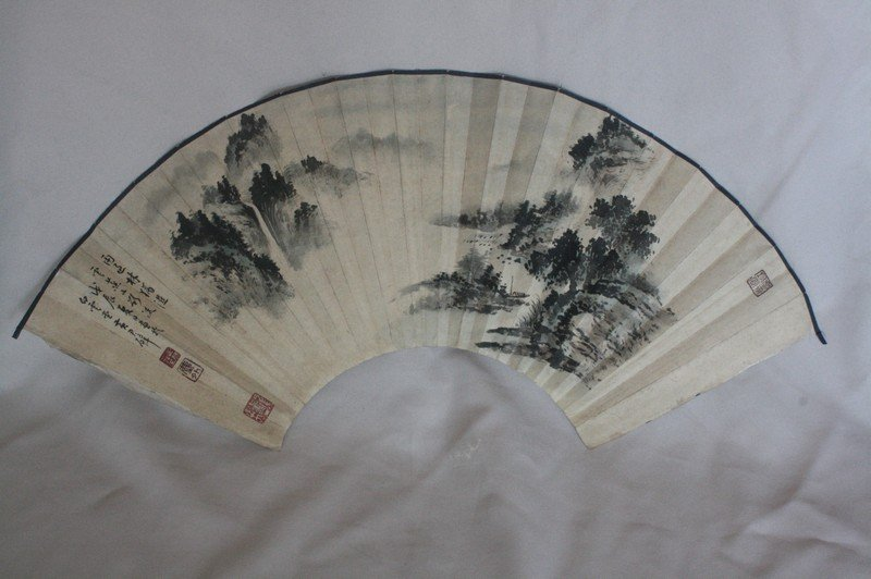 1007: Chinese Fan Painting