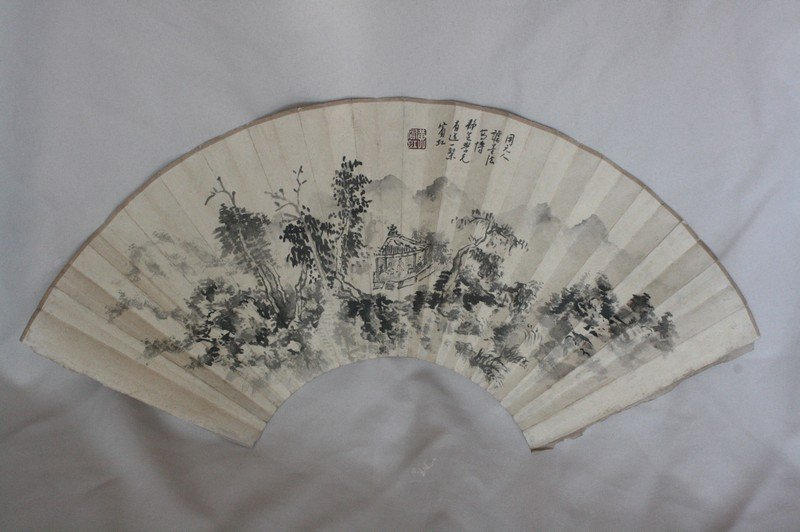 1009: Chinese Fan Painting