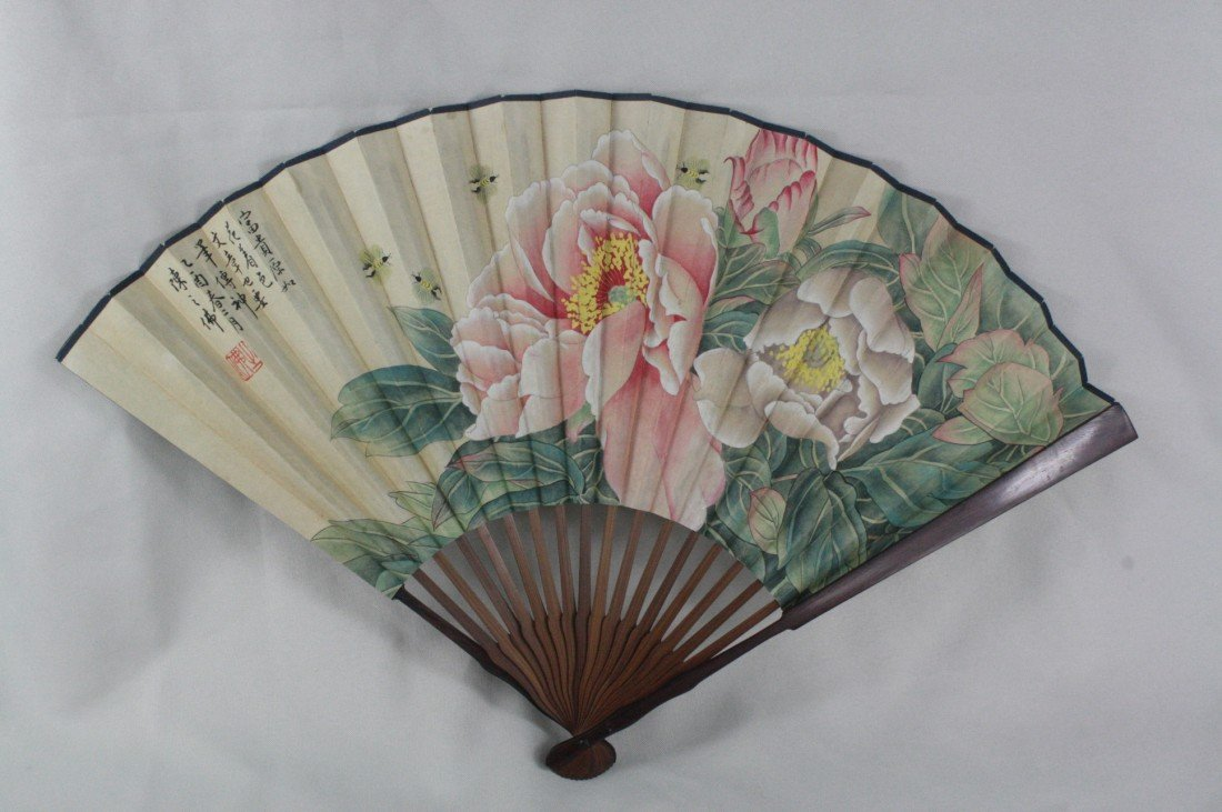16: Chinese Fan Decorative Painting