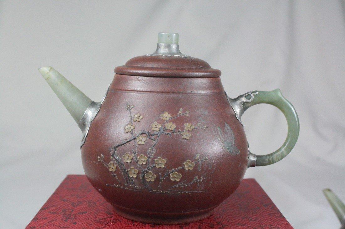 185: Chinese Ceramic Teapot