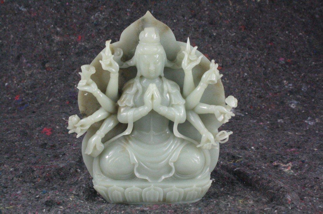 226: A Rare Chinese Jade Quan-Yin