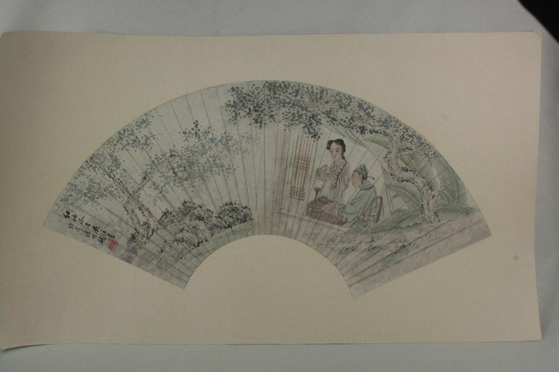 1: Chinese Fan Painting