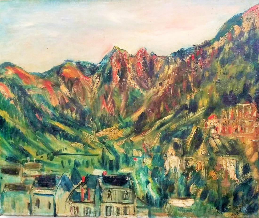 FRIESZ O. FRIESZ (Attributed) Signed Painting 1907