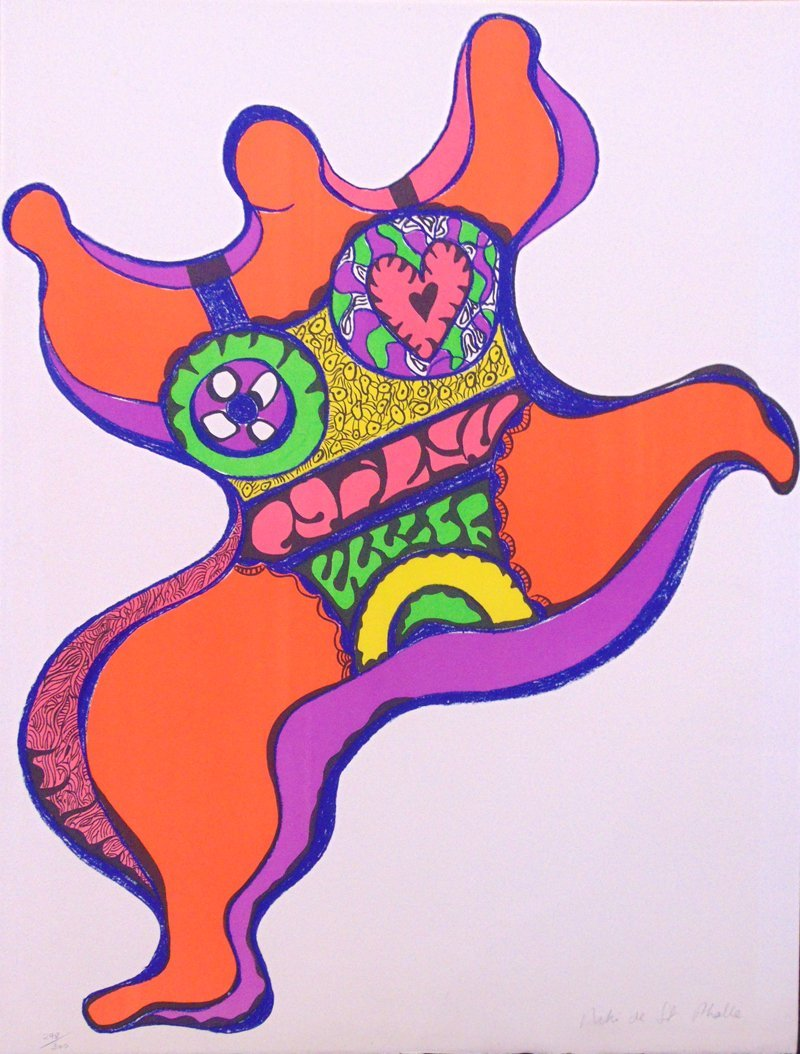 NIKI DE SAINT PHALLE Original Hand Signed and Numbered