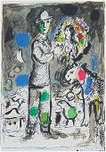 MARC CHAGALL Original Hand Signed and Numbered