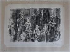 RAOUL DUFY Hand Signed and Numbered Lithograph French