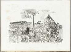 RAOUL DUFY Hand signed Lithograph French