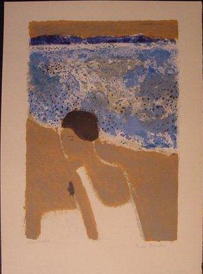 11139: ANDRE BRASILIER H. Signed Litho French Art