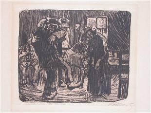 11489: K. KOLLWITZ Etching 1901/1931 German