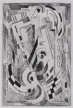 11395: ALBERT GLEIZES 72 Etchings + 3 Drawings