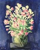 14277: MOISE KISLING Painting Polish Russian 1934