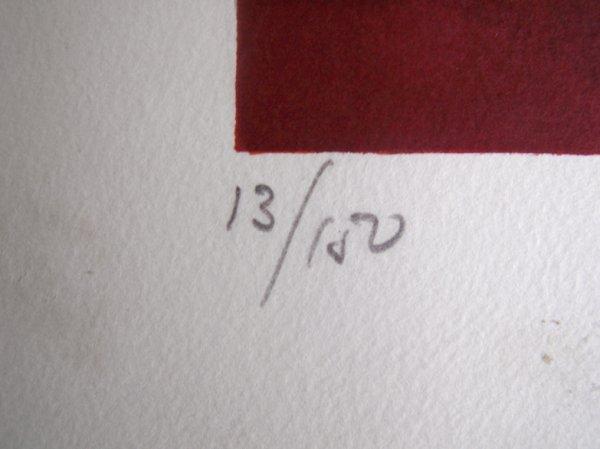 11113: SUNOL ALVAR Sig Lithograph Spanish Art - 4