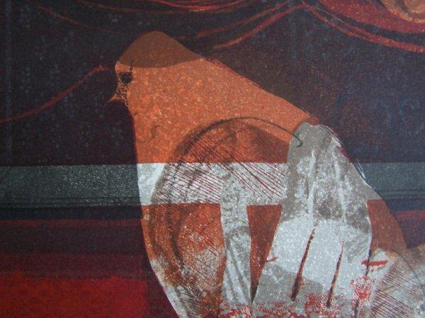 11113: SUNOL ALVAR Sig Lithograph Spanish Art - 5