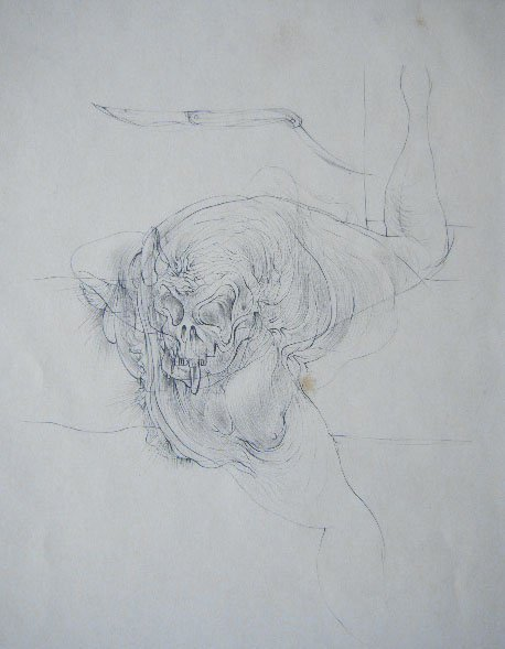 11119: HANS BELLMER Etching French Surrealism