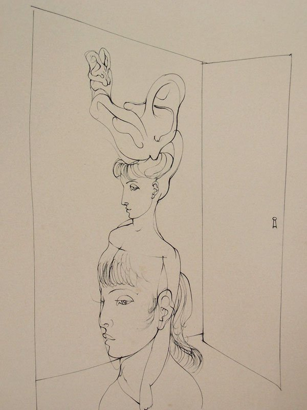 11121: HANS BELLMER Etching French Surrealism