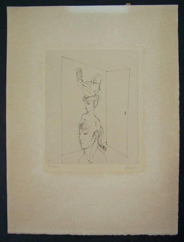 11121: HANS BELLMER Etching French Surrealism - 2