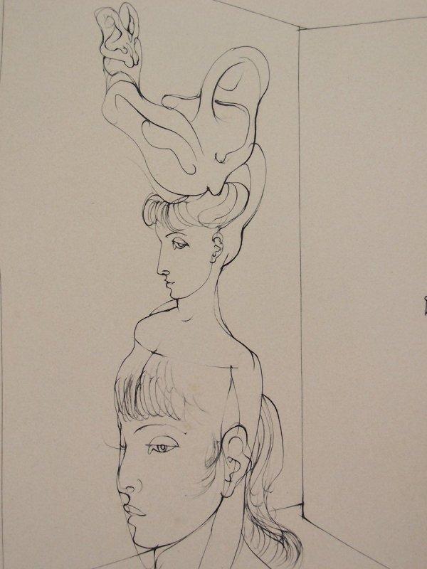 11121: HANS BELLMER Etching French Surrealism - 5