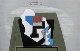11752: SEVERINI Hand Signed Colour Lithograph