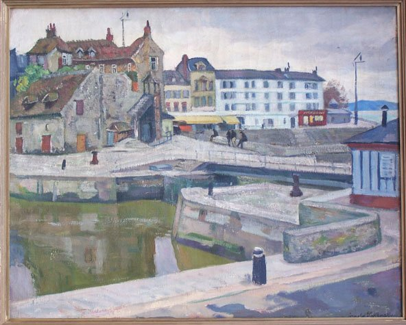 13285: ARNOLD LAKHOVSKY Painting Russian Art - 2