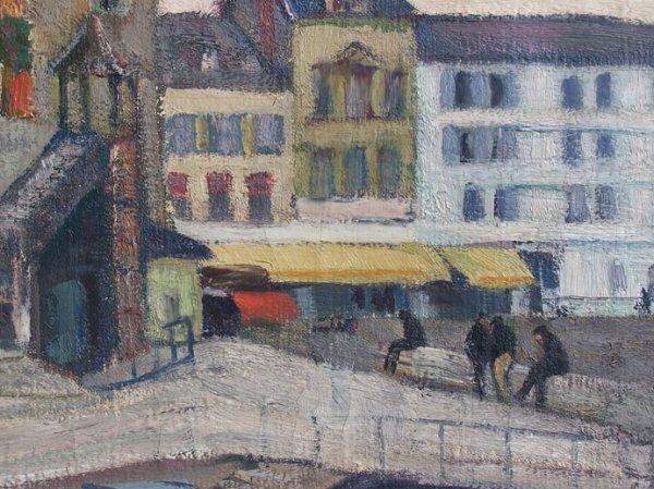 13285: ARNOLD LAKHOVSKY Painting Russian Art - 5