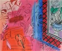 16190: RAOUL DUFY Original Lithograph Poster French Art