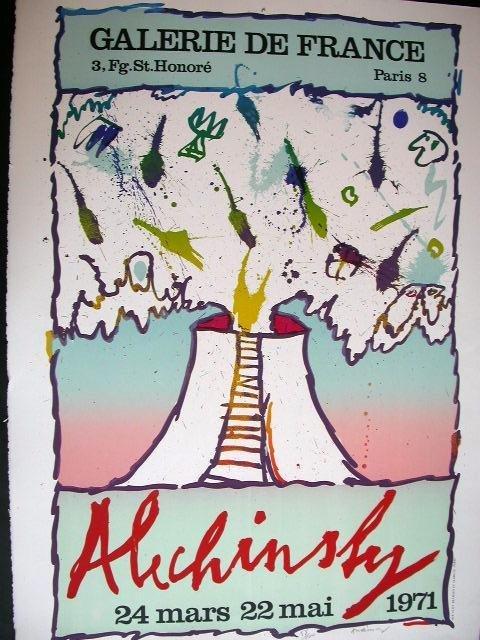 11104: ALECHINSKY PIERRE ALECHINSKY Lithograph Cobra