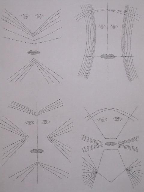 11144: BRAUNER VICTOR BRAUNER Signed Etching Surrealism