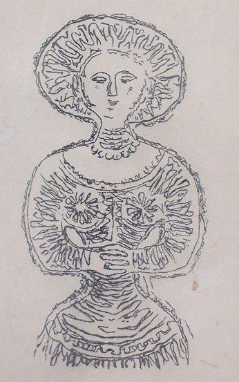 11163: CAMPIGLI MASSIMO CAMPIGLI Hand Signed Lithograph