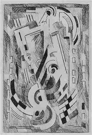11395: GLEIZES ALBERT GLEIZES 72 Etchings + 3 Drawings
