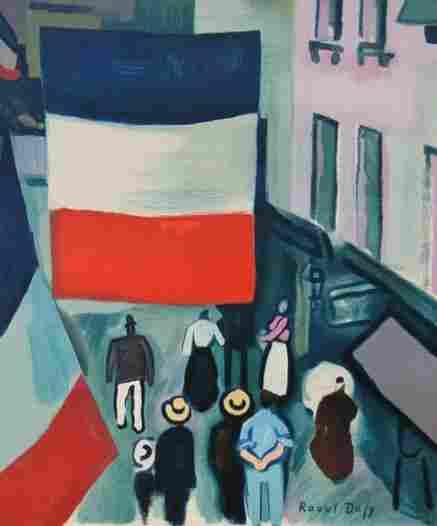 DUFY RAOUL DUFY Lithograph Poster French Art 195