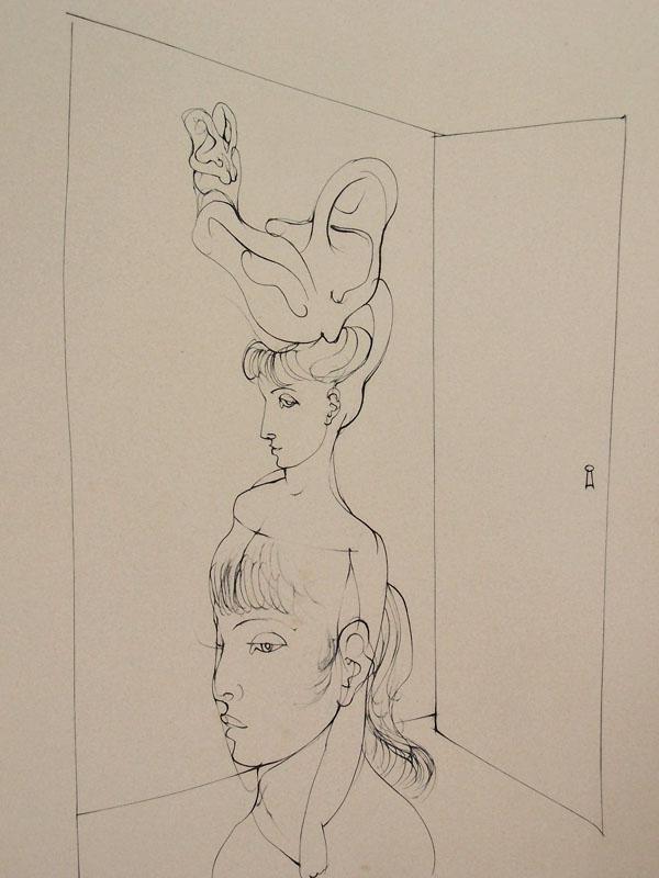 11133: HANS BELLMER Etching French Surrealism