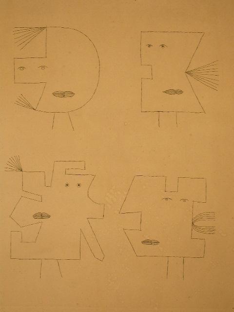 11143: VICTOR BRAUNER Signed Etching Surrealism 1962