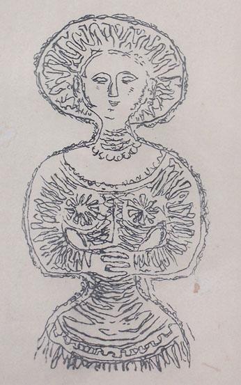 11163: MASSIMO CAMPIGLI Hand Signed Lithograph Italian