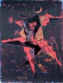 11549: MARINO MARINI Hand Signed Lithograph