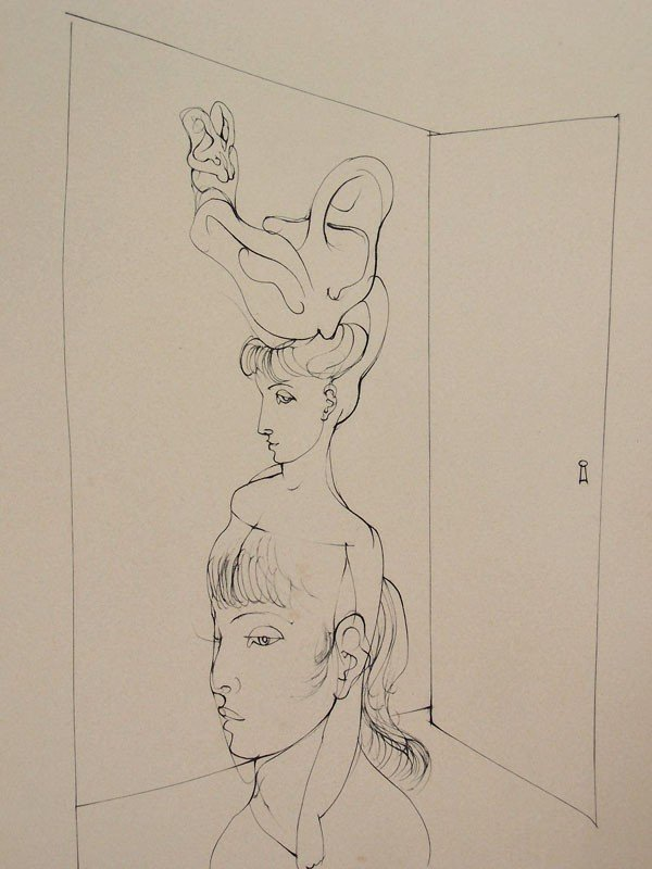 11133: HANS BELLMER Etching French Surrealism