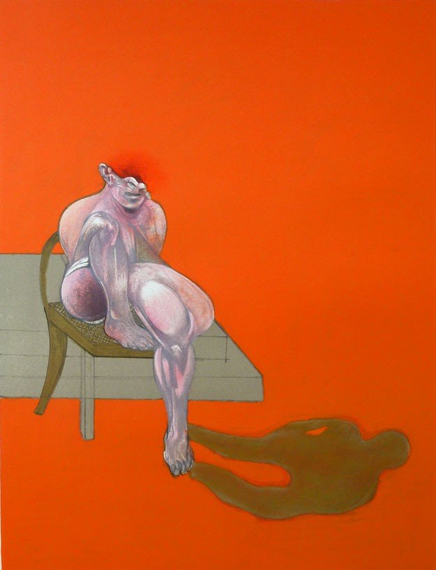 11125: FRANCIS BACON Hand Signed Lithograph 1983-84