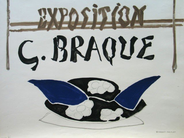 11152: GEORGES BRAQUE Poster