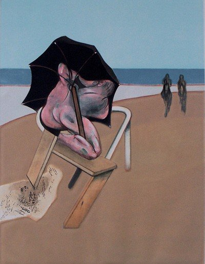 11120: FRANCIS BACON  H.Signed Numbered Etching with Aq