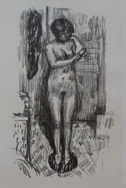 11133: PIERRE BONNARD Hand Signed Lithograph 1925 Rare