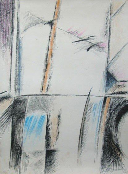 11173: RAFOLS CASAMADA Signed Litho Spanish Art 1975 Ab