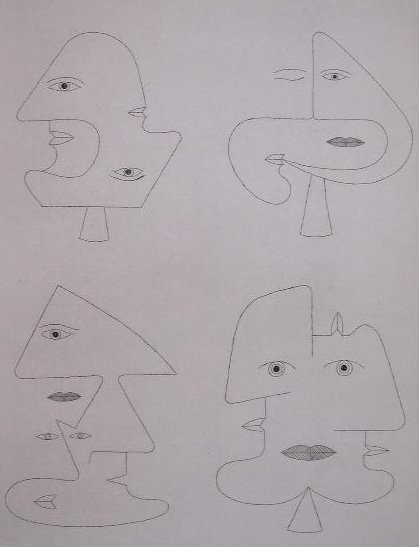 11147: VICTOR BRAUNER Signed Etching Surrealism Romania