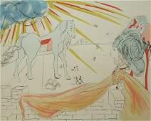 11235 SALVADOR DALI Etching Surrealism Spanish