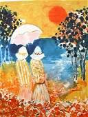 16214: EPKO Litho French Impressionism
