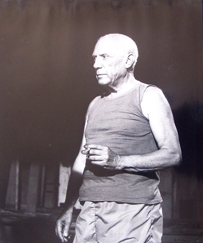 11846: ANDRE VILLERS Signed Photograph Pablo Picasso