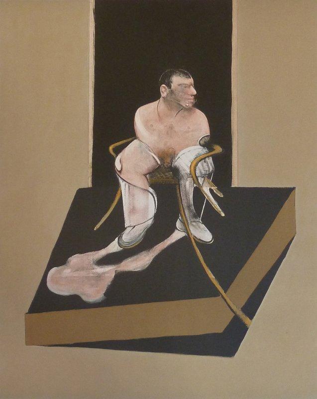 FRANCIS BACON Hand Signed Aquatint 1987 British Art