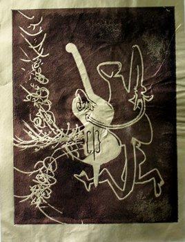 ROBERTO MATTA Hand Signed Etching Surrealism Latin Art