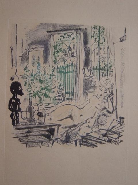 ANDRE DIGNIMONT Book Etchings French