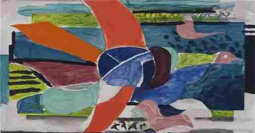 GEORGES BRAQUE Hand Signed Aquatint Cubism 1950 Bird