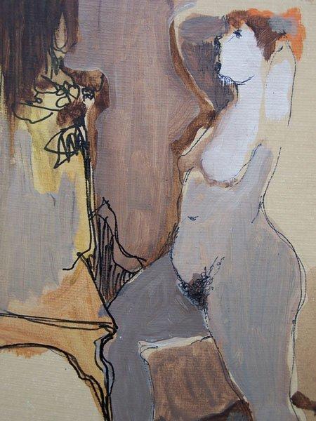 ITZCHAK TARKAY Signed Oil Painting Israeli - 4
